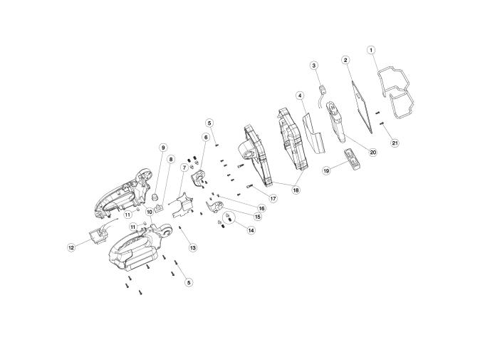 Explosie tekening van:BML360