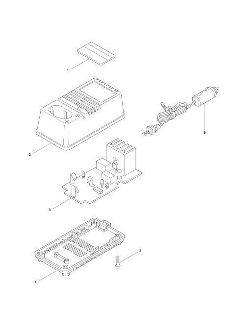 Explosie tekening van:DC9112