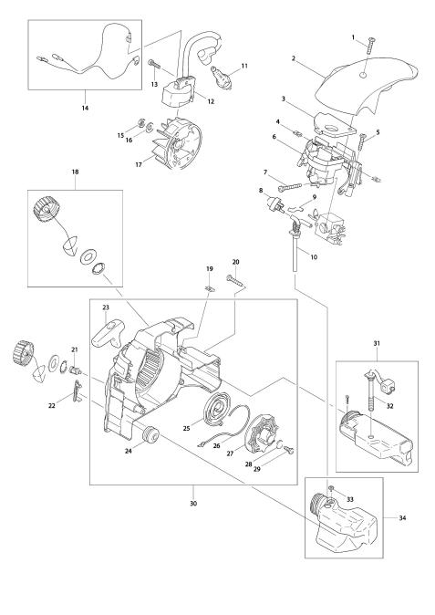 Explosie tekening van:DCS34