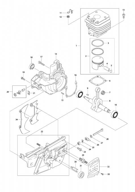 Explosie tekening van:DCS6800I