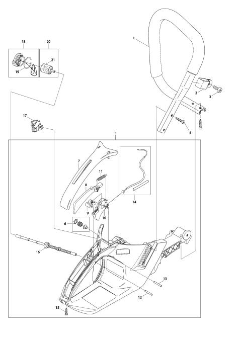 Explosie tekening van:DCS7901