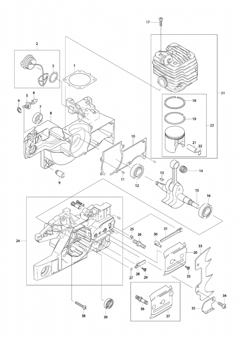 Explosie tekening van:DCS9000