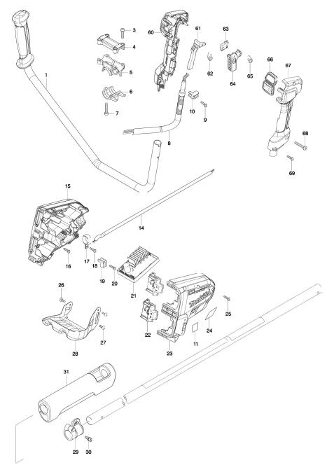 Explosie tekening van:DUR365U