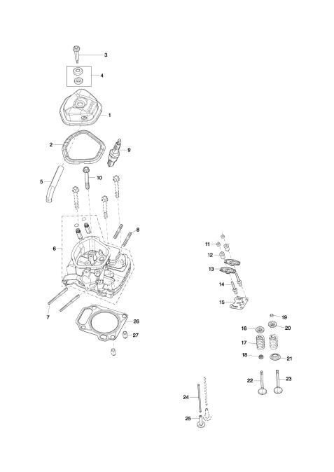 Explosie tekening van:EG6050A