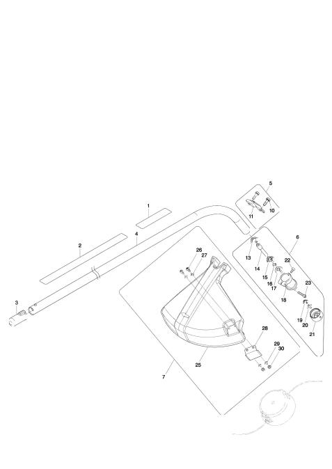 Explosie tekening van:ER400MP