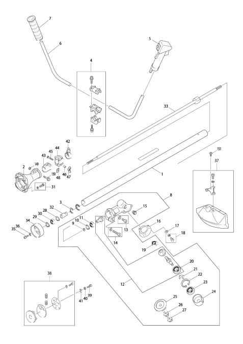 Explosie tekening van:RBC420