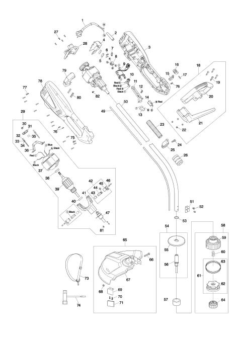 Explosie tekening van:UR3500