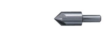 Escareador cónico 5 fios HSS cilíndrico