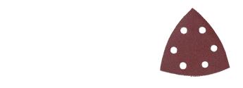 lixa velcro perfurada 93x93x93mm vermelha