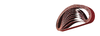 lixas de cinta 30 x 533 mm vermelha